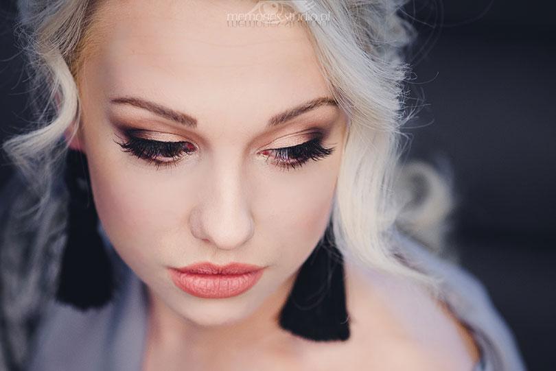 Sesja kobieca Darii, make-up Koło, Sesja portretowa Koło, Konin, Turek