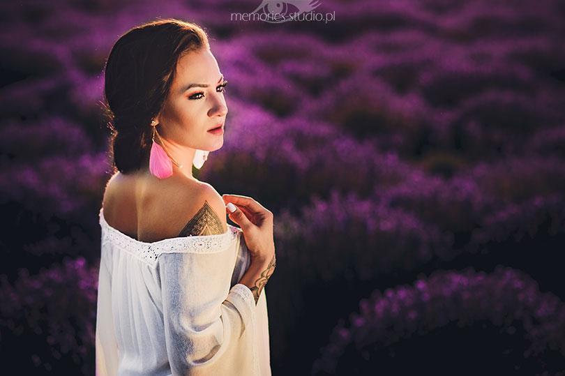 Sesja portretowa, sesja kobieca Studio Sun