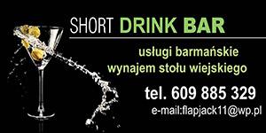 Short Drink Bar Błażej Urbański